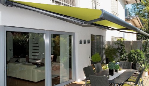awning for home or shop