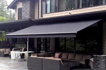 folding arm awning shade