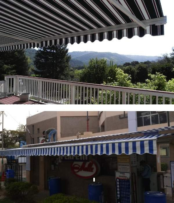 terrace awning india